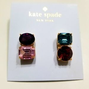 Kate Spade Multi Color Earrings NWT